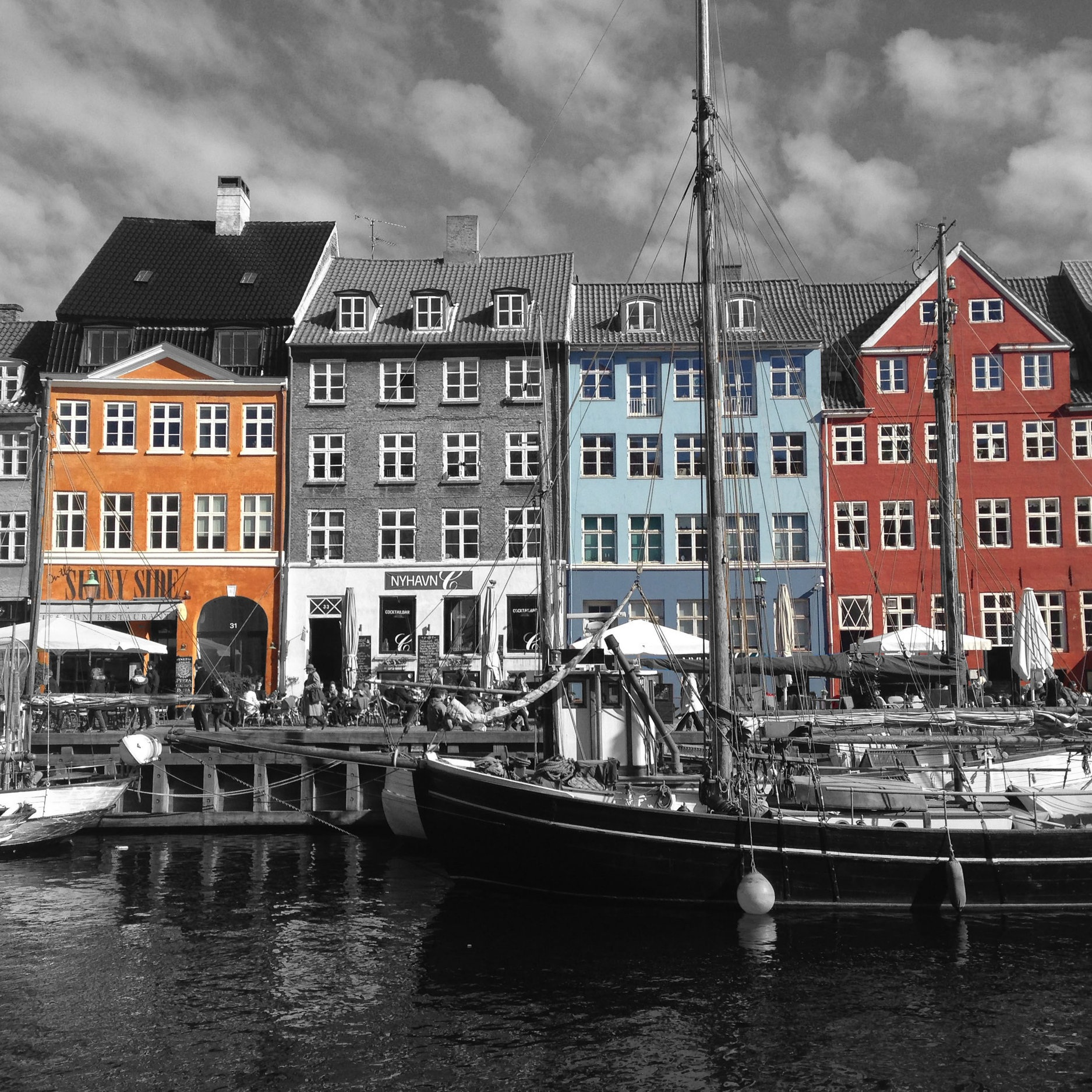 A haven for people - Nyhavn, Copenhagen. Denmark (Captured by Emily Sproule)