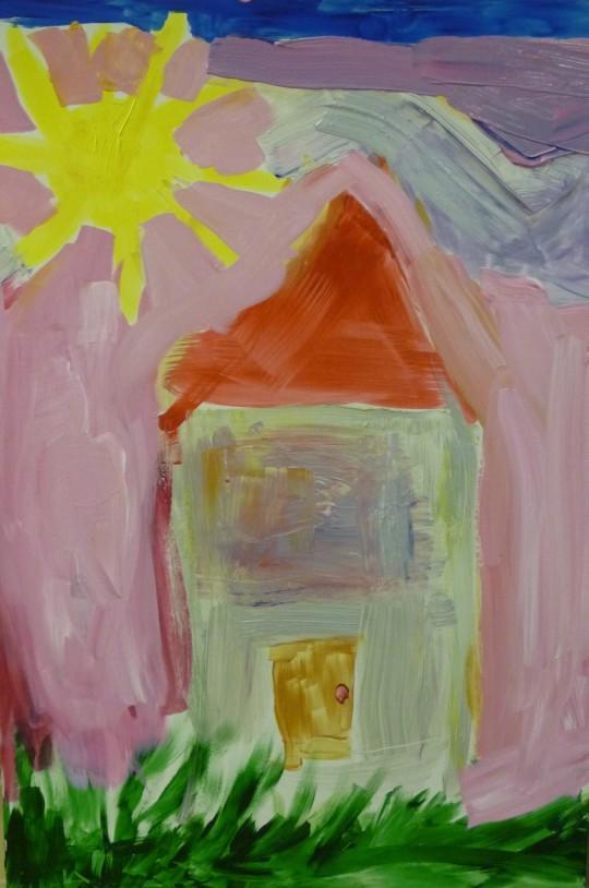 """Huset mitt på Island"" av Julia"
