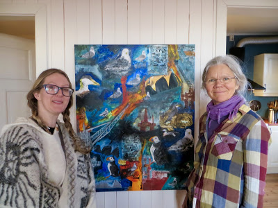 Helen Dearnley og Tone Toft