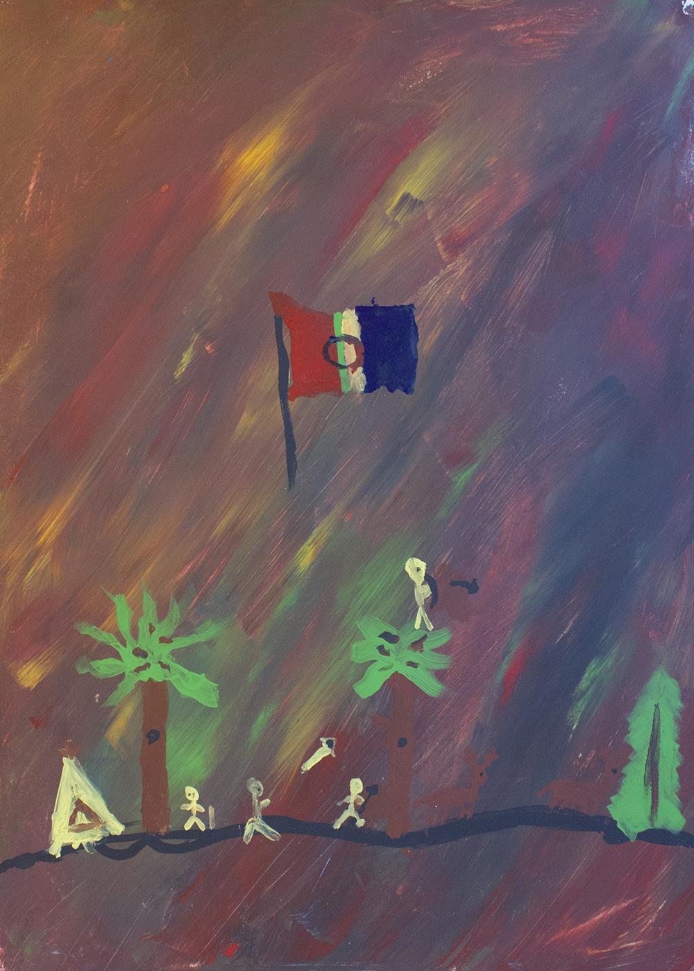 """""""The Sámi Flag"""" - Nikola, Poland"""