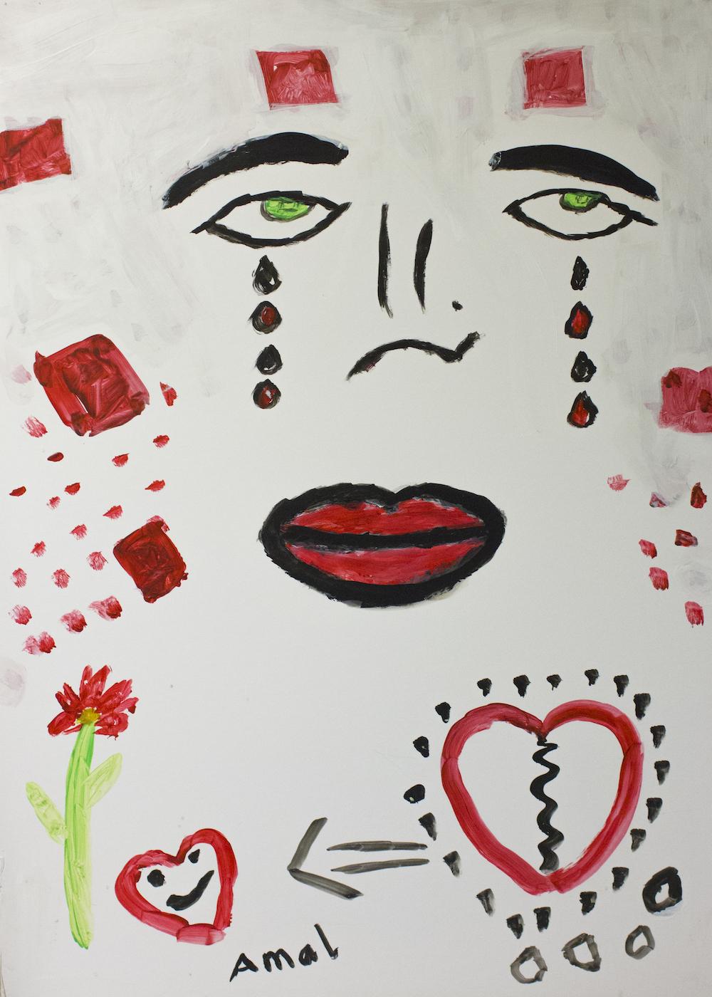 """From sad to be happy"" - Amal, Syria, Lebanon"