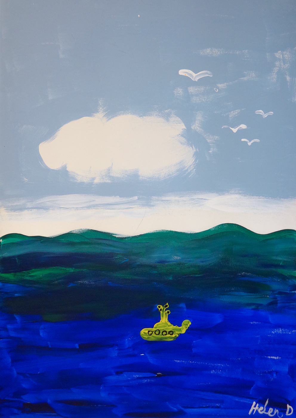 """""""We all live in a yellow submarine"""" - Helen, United Kingdom, Norway"""