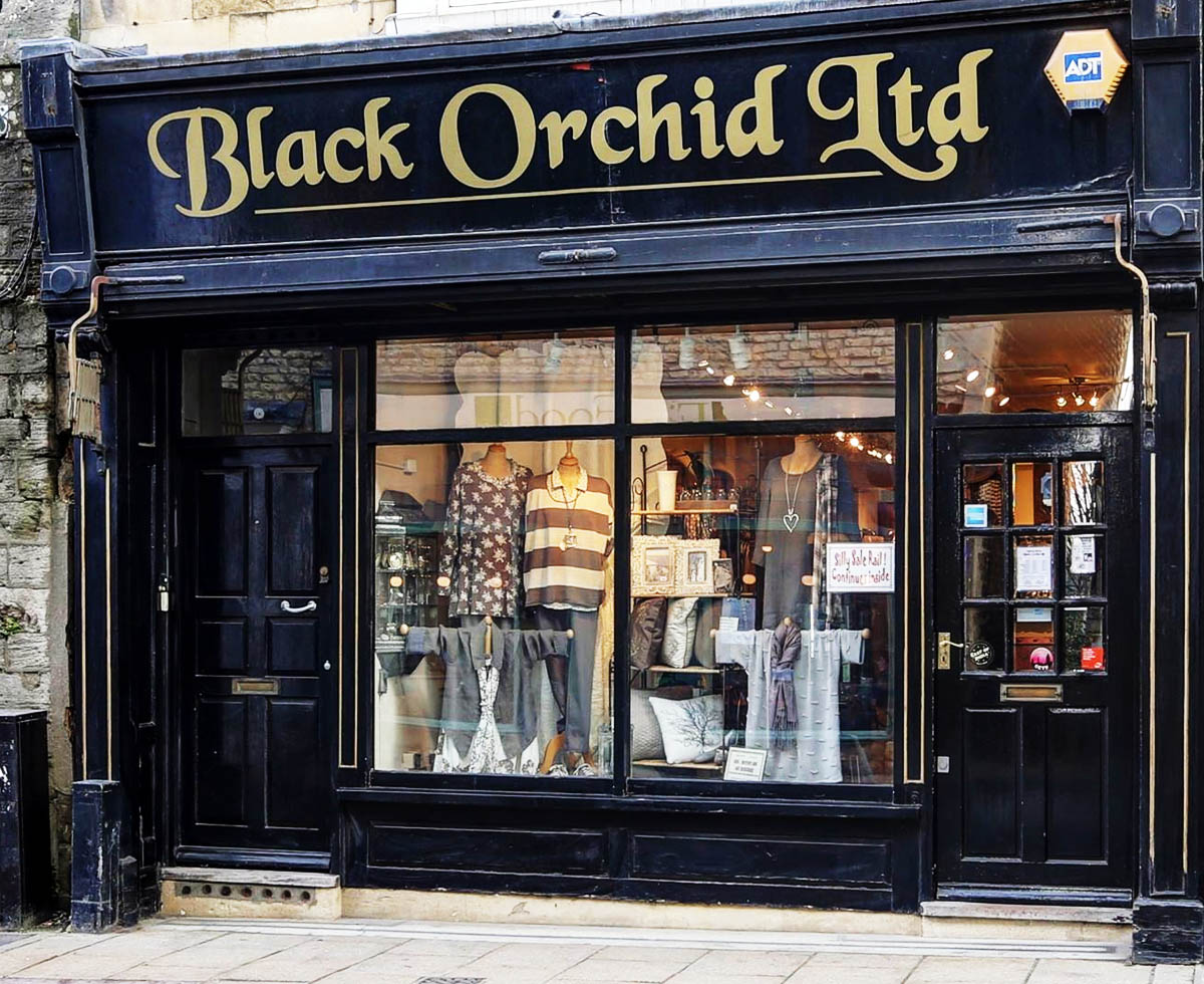 Black Orchid - 7 Mary's StreetStamfordLincolnshire PE9 2DETel: 01780 754140
