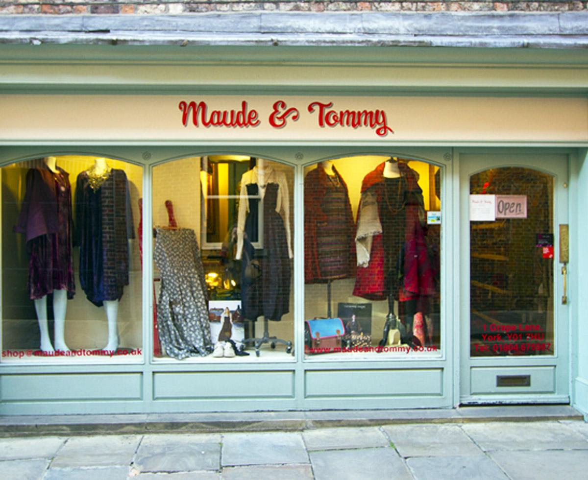 Maude & Tommy - 1 Grape LaneYorkNorth Yorkshire YO1 7HUTel: 01904 675987