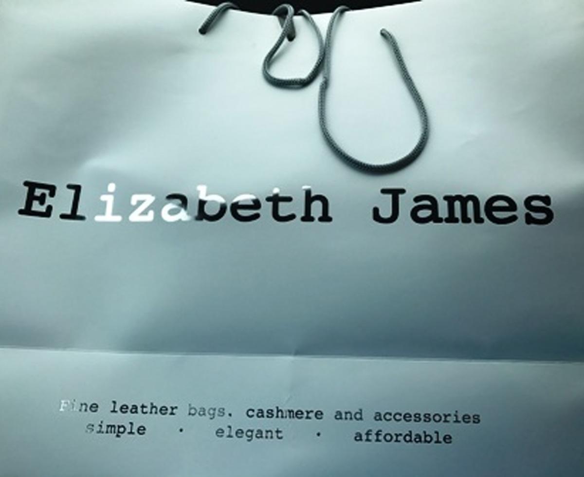 Elizabeth James - Unit 7B Cornhall Arcade Cirencester Gloucestershire GL7 2NYTel: 01285 885785