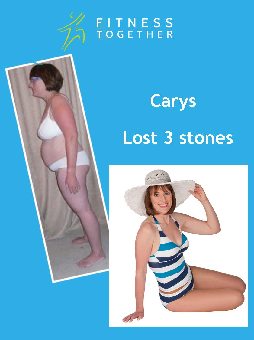 weightloss story Carys