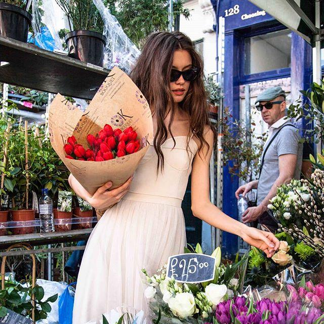 @katyaa_golden in our Poppy dress
