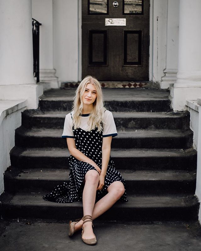@thisisjules16 in our Polka Dot dress