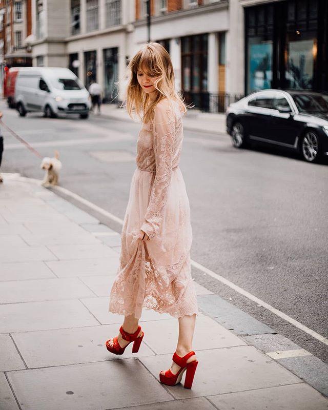 @sylwia_bajek in our Zinnia dress