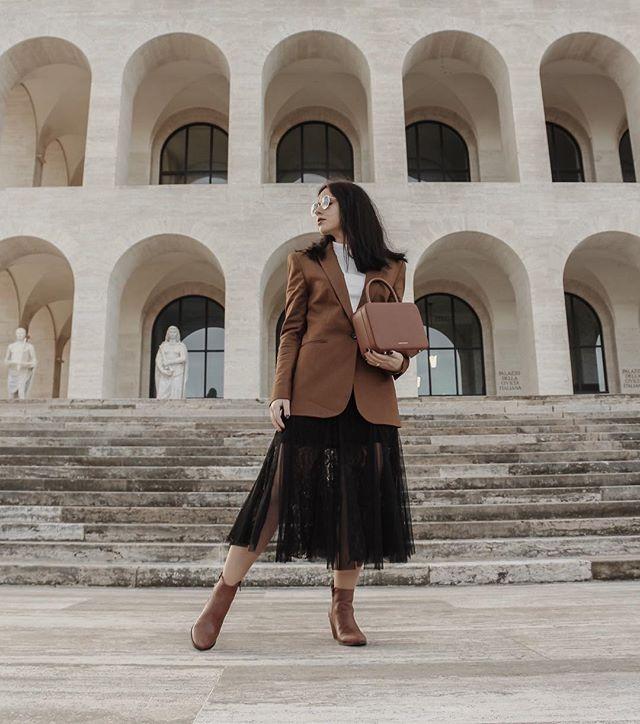 @taniastolyarenko in our black mesh skirt