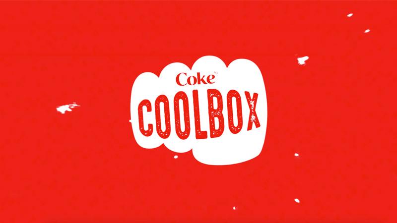 Coca-Cola YouTube Branding - Format: Coolbox