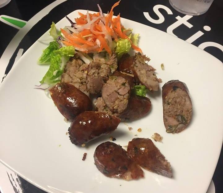 Lao sausage at STicky Rice Cafe? Pho yes!