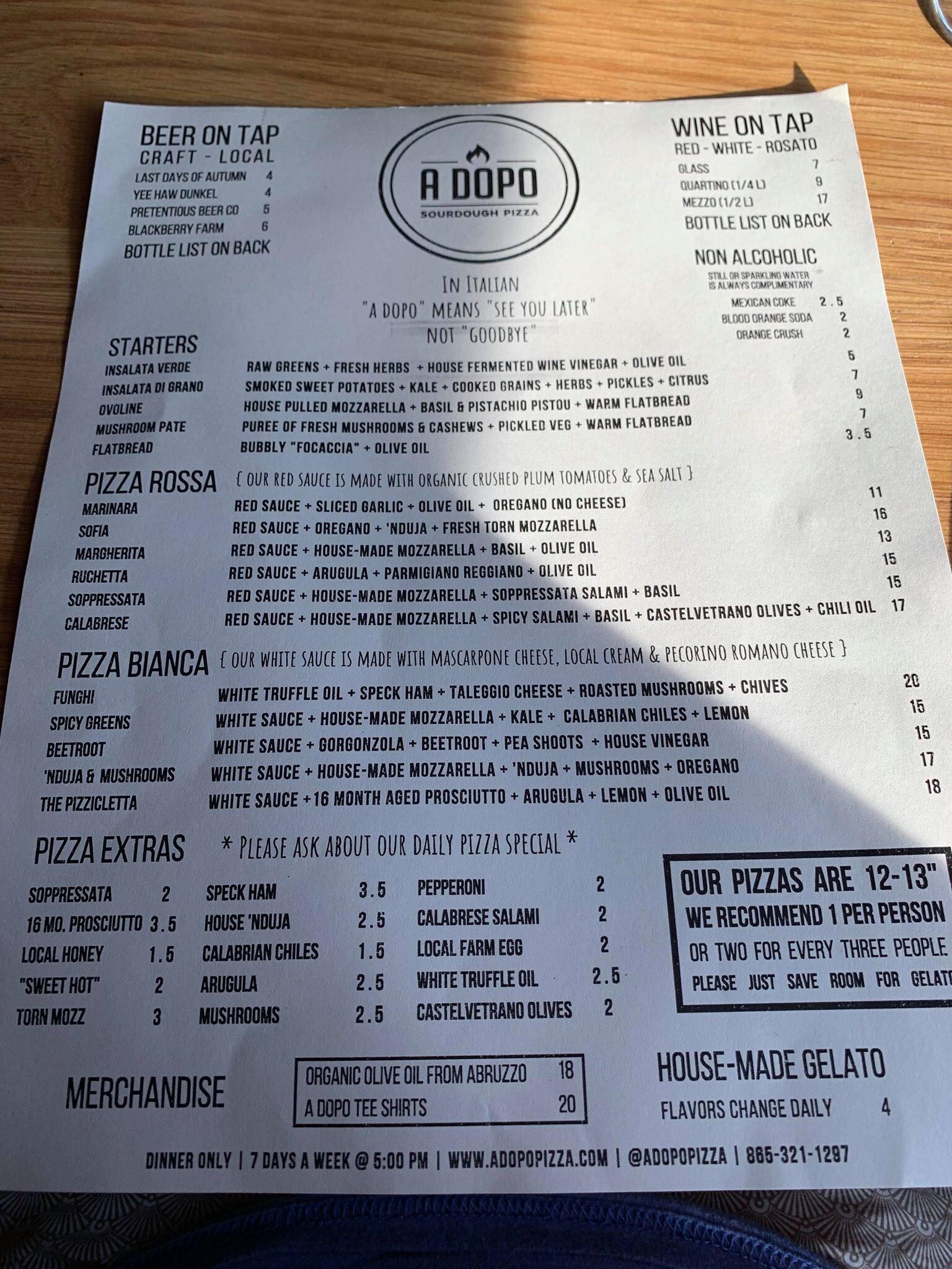 A Dopo menu.jpg