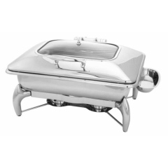 stainless/glass Chafer 8qt,  $35/day