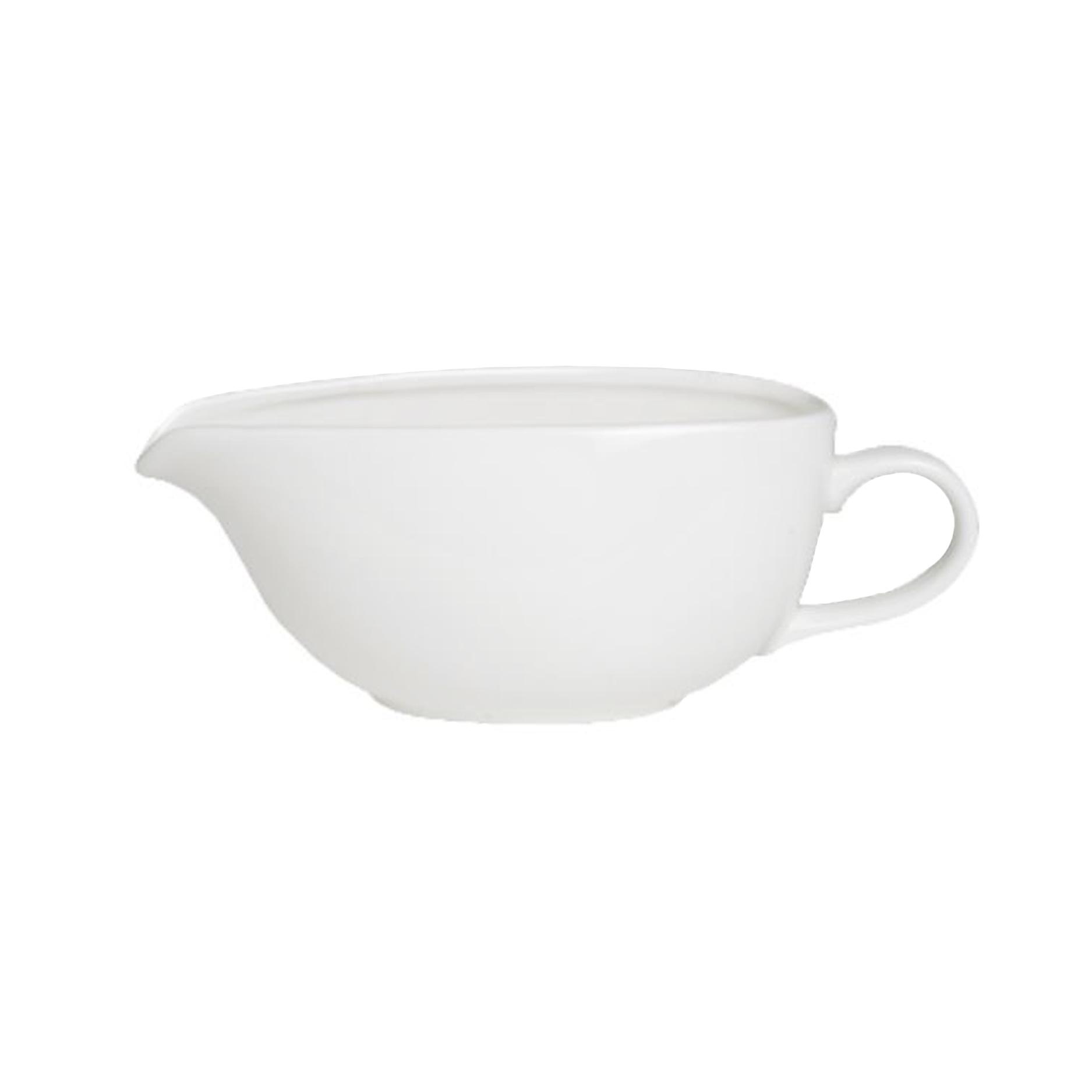 porcelain gravy boat 12.5oz