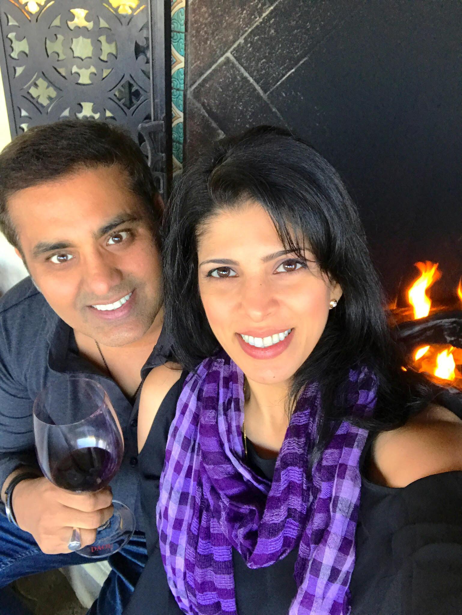 Varinder Sahi, Owner / Winemaker    Anita Kothari, Owner / Director of Operations