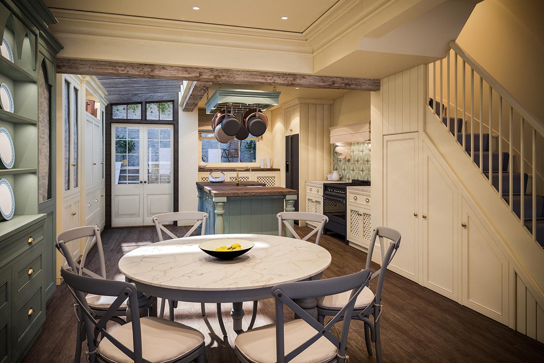 Kitchen Interior Design Mallet London