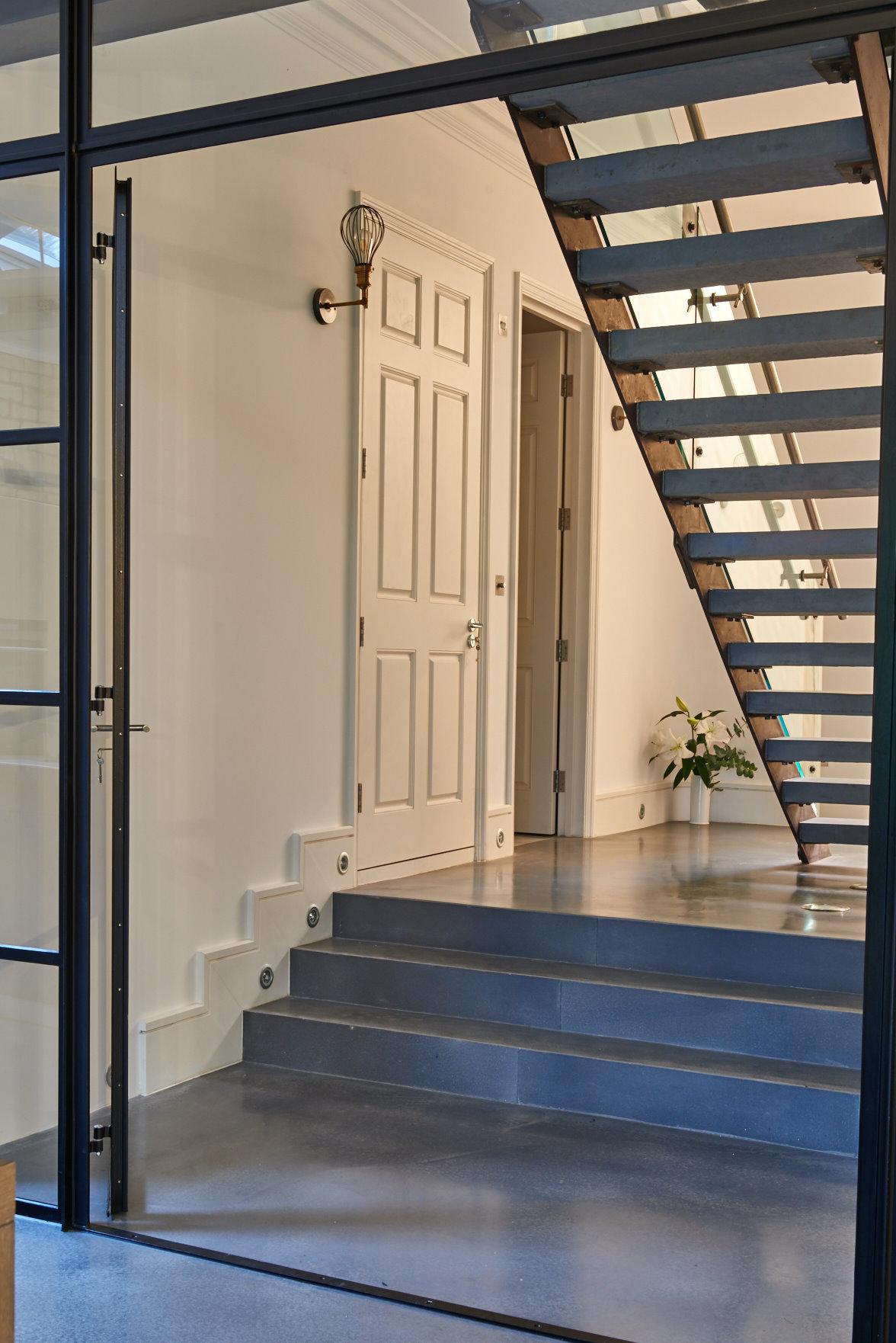 Queens Park Modern Staircase Design Mallett London