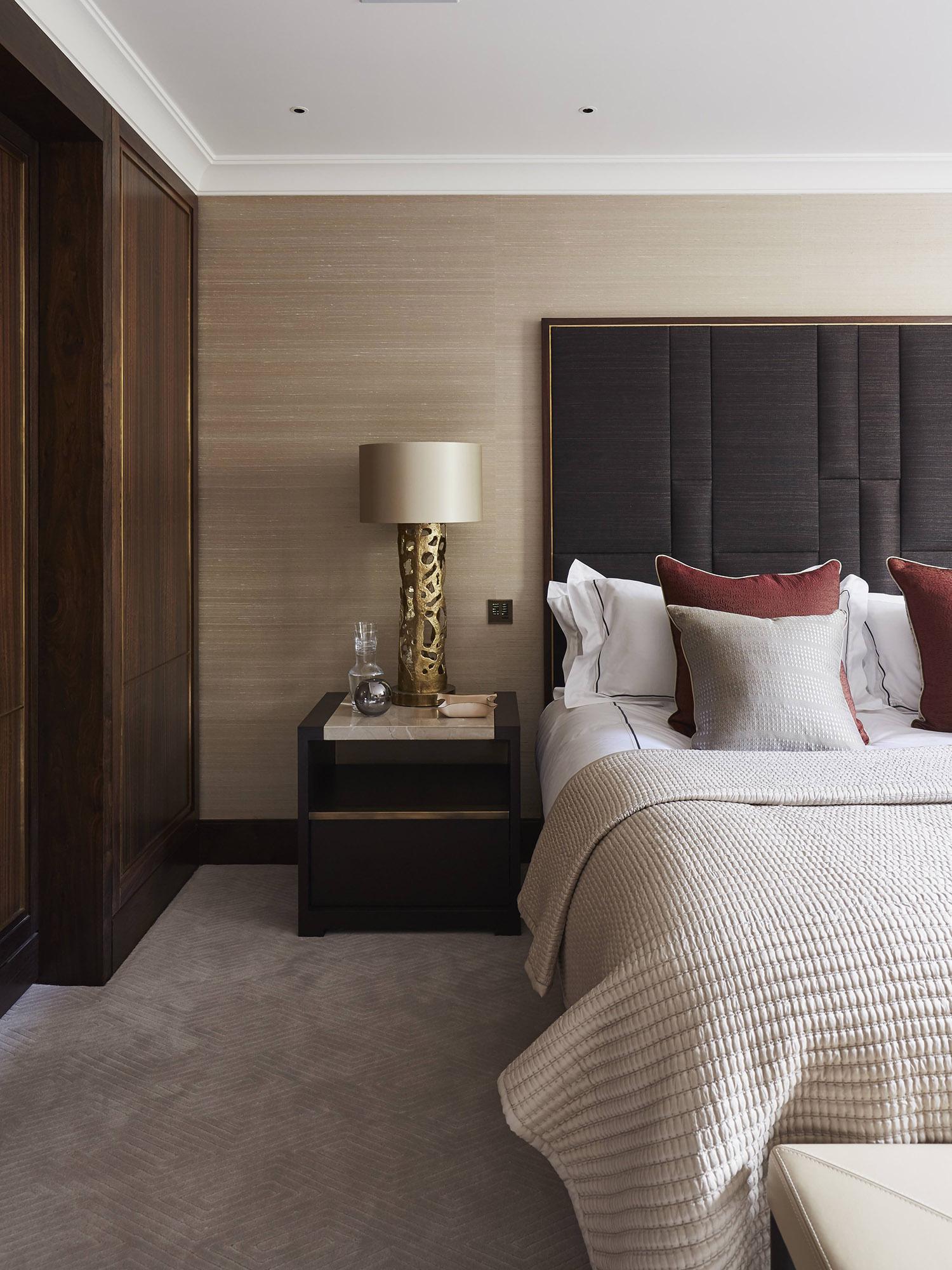 Bedroom Interior Design Knightsbridge Mallett London