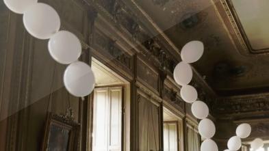 charles pétillon's interactive balloon installation generates sound and music