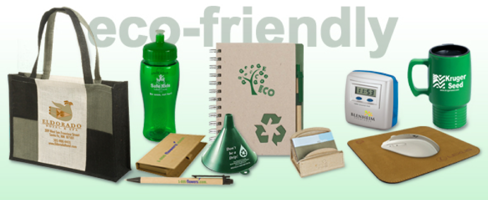 Going Green --Eco-Friendly Products -