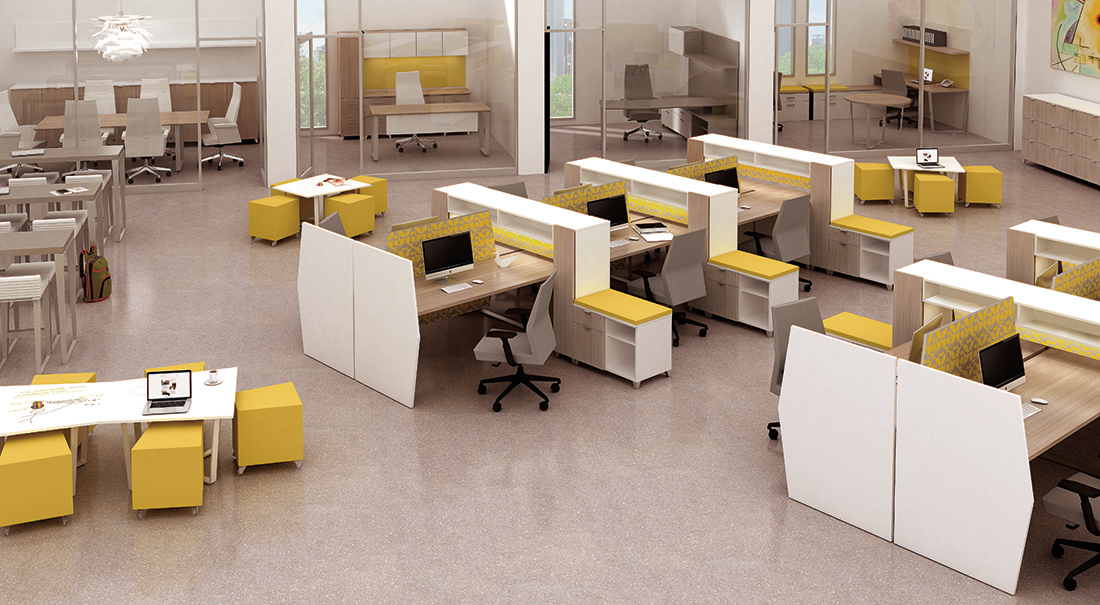 OPEN OFFICES & WORKSTATIONS IDEA 1