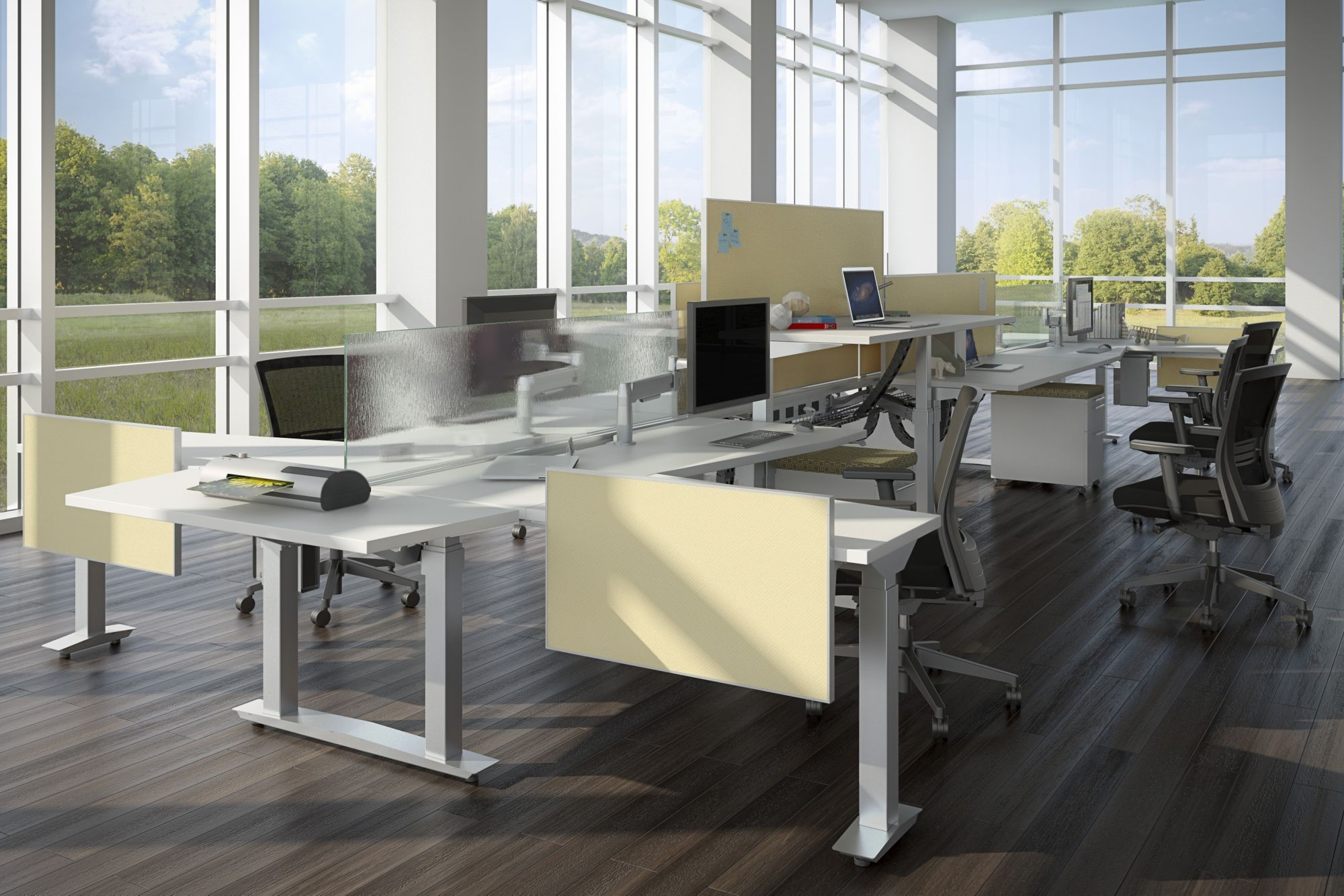 OPEN OFFICES & WORKSTATIONS IDEA 3