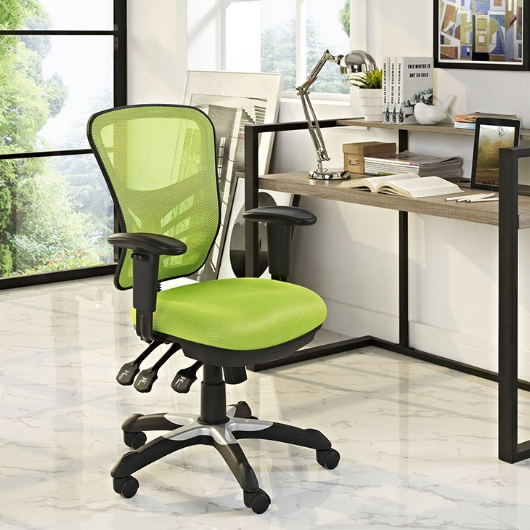 Modway- Articulate Mesh Green Office Chair