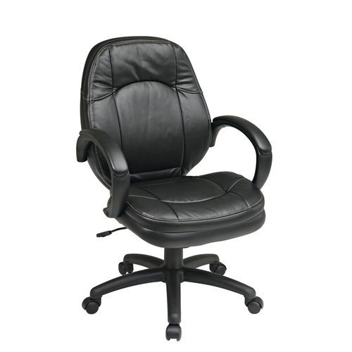 Quick Overview   Manage It- This OFD Managers Chair features the locking tilt control to provide ultimate comfort. With padded arms and built-in lumbar support, you can be sure that you can obtain relaxation and good posture.