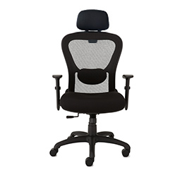 9to5 Strata Lite High-Back Task Chair with Headrest   $350