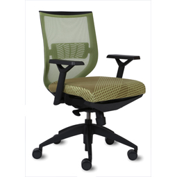 9to5 Aria Mid-Back Task Chair   $311