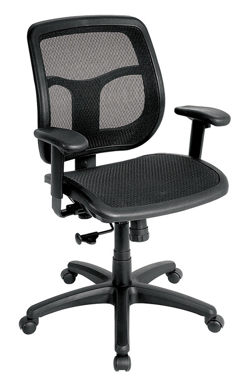 Eurotech Apollo Mesh Seat and Back Task Chair   $501