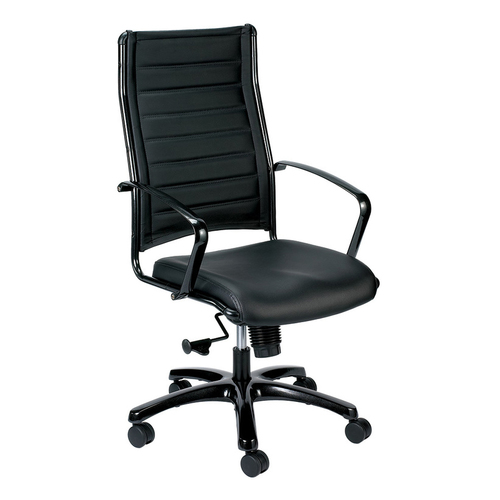 Eurotech Europa High-Back Metallic Executive Chair   $475