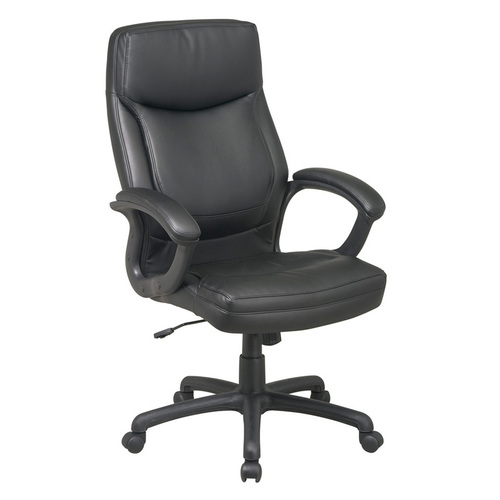OFD Executive High Back Eco Leather Chair with Locking Tilt Control   $349
