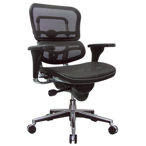 Quick Overview   Aesthetics, form and function are merged seamlessly in a single design, and allows the Ergo chairs to be minutely adjusted to achieve unrivaled ergonomic fine tuning. A synchro-tilt mechanism with infinite lock, sliding seat, pneumatic height adjustment, and headrest are options on all Ergo models.