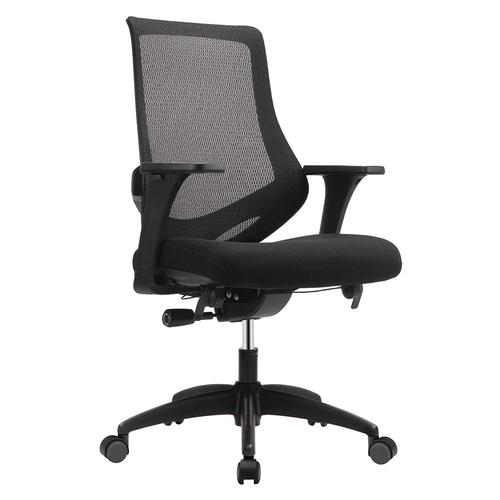 Quick Overview   Waterfall seat conference chair with both seat and arm height adjustment.