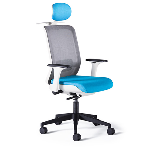 Quick Overview   Icon, from Neutral Posture, is the clean, elegant solution for task seating in today's high functioning office environment.The three adjustment levers control height, synchro-tilt and seat sliding position. The finished seat bottom shell conceals the mechanism allowing a clean, sleek aesthetic. Icon is available in armless, 1D or 3D arm styles. The arm adjustment is located on the inside of the arm, maintaining the clean, design aesthetic. 3D arms adjust in three directions – height, depth and width.