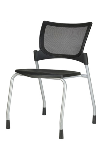 9to5 Bella Mesh Four Leg Guest Chair   $303