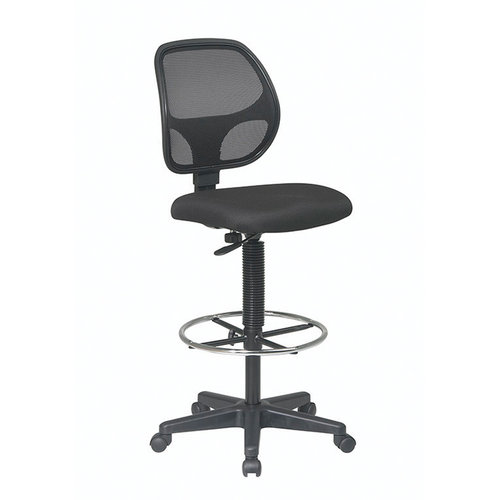OFD Deluxe Mesh Back Drafting Stool with Adjustable Footring   $310