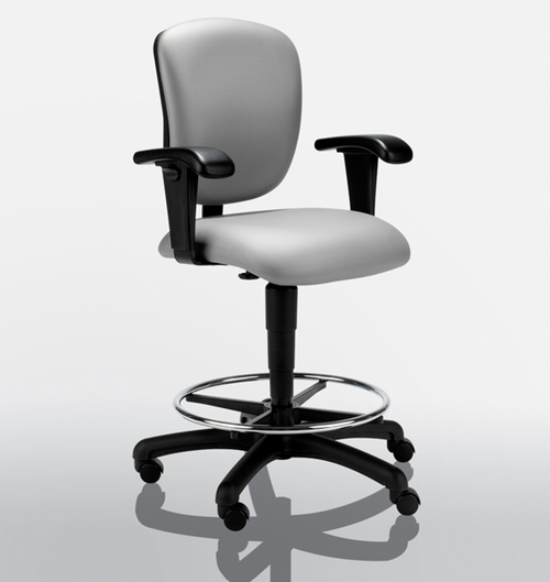 United Chair Radar Waterfall Seat Stool   $600