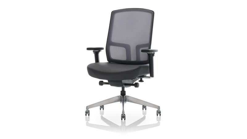 United Chair Expression Adjustable Height Management Chair   $730