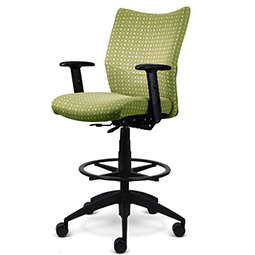 Quick Overview   This multifunction task chair features arm height, back angle, center tilt, seat height, and tilt tension user controls.