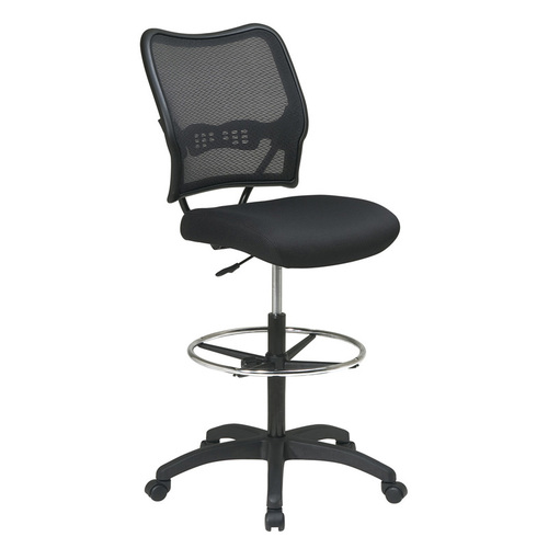 Quick Overview   This Double Air Grid Stool is perfect for the office or school. It includes a footring for added comfort.