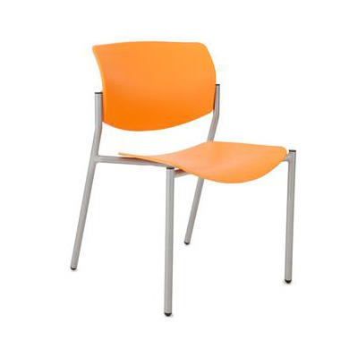 Quick Overview   This Shuttle Guest Chair features a plastic back with plastic seat.