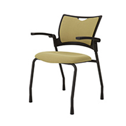 Quick Overview   This 9to5 Bella Guest Chair features a plastic back with plastic seat.