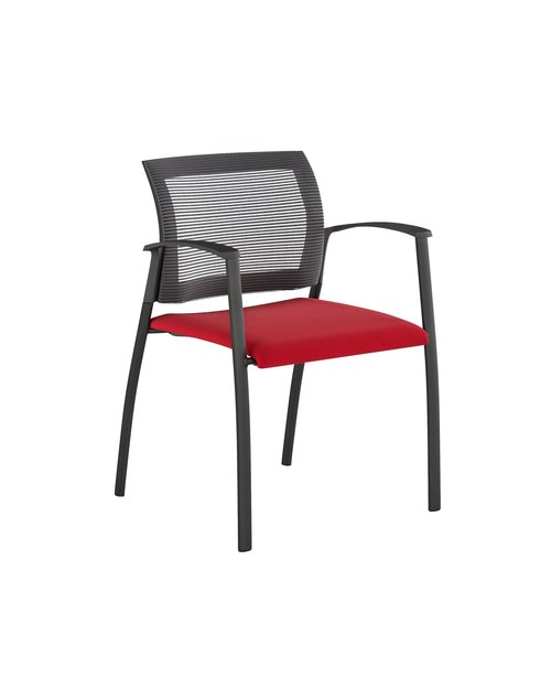 Quick Overview   Grafton, is a robust mesh back side chair that can be stacked. Offering clean clines and sleek design, it's the perfect companion to the Upton and Natick. The refined Grafton is ideally suited as a guest or visitor chair but will also serve its purpose in cafeteria, dining rooms, waiting rooms, or any area where extra seating is required