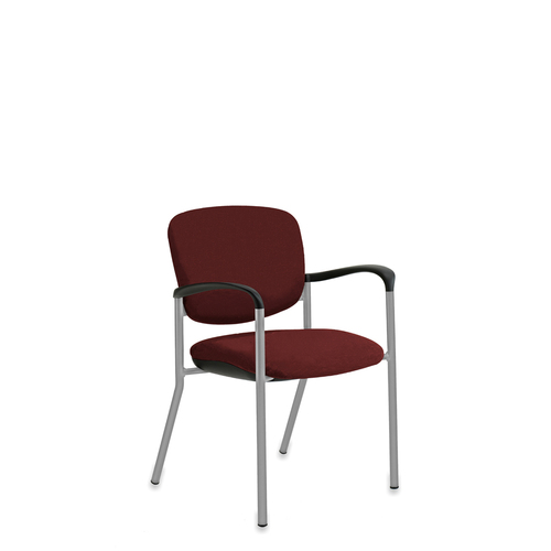 "Quick Overview   The guest chair is as ""comfortable"" in the lobby as it is in a private office, conference setting or break room. Brylee guest seating can be stackable for storage in the wall saver leg version. A caster version to compliment your interior choices."
