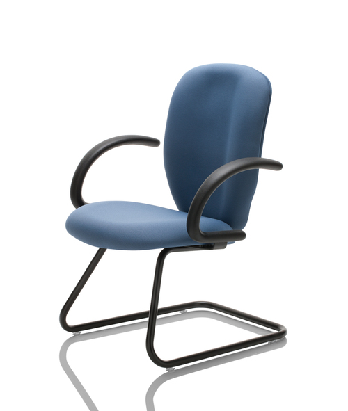 United Chair Savvy Sled Base Guest Chair   $845