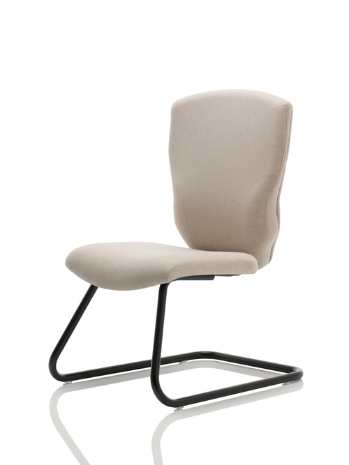 United Chair Sensato Sled Base Guest Chair   $545