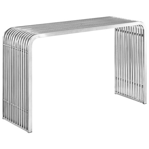 Modway Pipe Stainless Steel Console Table   392.00
